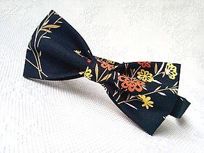 Doplnky - Romantický vintage pánsky motýlik - 10680939_