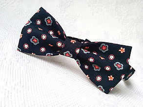 Doplnky - Romantický vintage pánsky motýlik - 10680985_