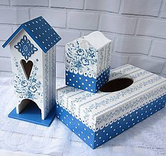 Krabičky - Kolekcia Blue - 10681532_