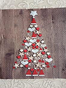 Papier - servítky 1851 Vianoce (1860) - 10681778_