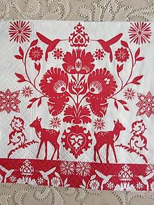 Papier - servítky 1735 Vianoce (1739a) - 10681968_