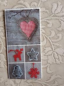 Papier - servítky 1735 Vianoce (1739c) - 10681974_
