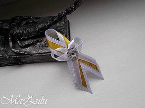 Pierka - svadobné pierko v zlatom & medenom opojení II - 10682181_
