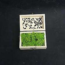 Kytice pre nevestu - Krabička na obrúčky - 10681370_