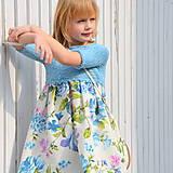 šaty PRINCESS tyrkysové