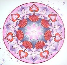 """Obrazy - Mandala """"Láska"""" - 10680508_"""