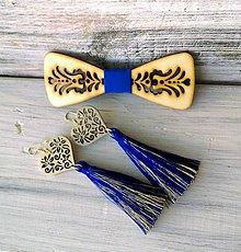 """Sady šperkov - Rodinný set """"Junák""""  (motýlik + náušnice) - 10680474_"""