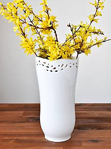 """Dekorácie - Váza """"Flow"""" - 10683082_"""