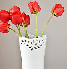 """Dekorácie - Váza """"Flow"""" - 10683097_"""