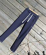 Nohavice - Nohavice rovný strih - jeansový vzhľad - 10680063_