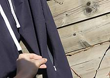 Nohavice - Nohavice rovný strih - jeansový vzhľad - 10680065_