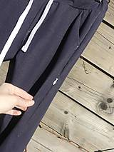 Nohavice - Nohavice rovný strih - jeansový vzhľad - 10680066_