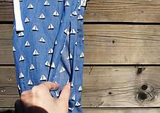 Nohavice - Letné nohavice - jeansovina - 10680068_