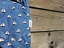 Nohavice - Letné nohavice - jeansovina - 10680069_