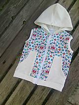 Detské oblečenie - folk vestičky - 10682699_
