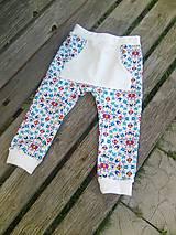 Detské oblečenie - folkové s vreckami - 10682716_