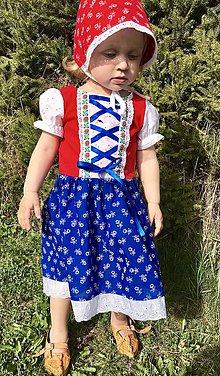 Detské oblečenie - Detské folklórne šaty Olinka - 10681964_
