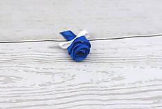 Pierka - Pierko tmavomodro-biele ruža - 10681857_