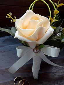 Pierka - svadobné pierko pre ženícha - 10682141_