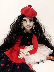 Bábiky - Autorská bábika ESMERALDA - 10681559_