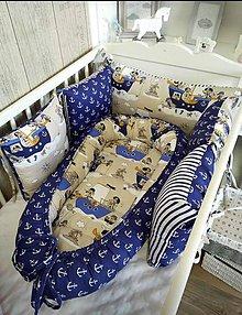 Textil - Hniezdo do postieľky - 10682305_