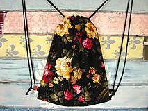 Batohy - Ruksak, batůžek, vak - Starobylé růže - 10680788_