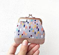 Peňaženky - Peňaženka mini Farebné maskovanie - 10680910_