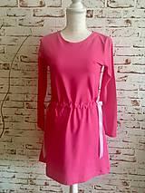 Šaty - Šaty s mašľou - 10681557_