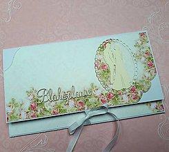 Papiernictvo - Svadobná obálka na peniaze - 10681515_