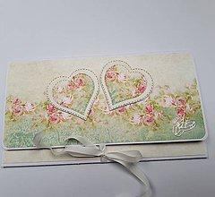 Papiernictvo - Svadobná obálka na peniaze - 10681534_