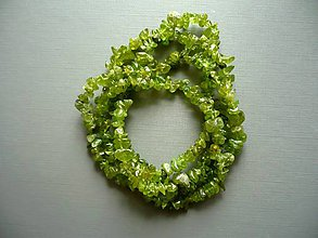 Minerály - Minerální zlomky 90 cm - olivín - 10682349_