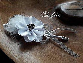 Pierka - Pierko pre ženícha - Anemonka - 10680282_