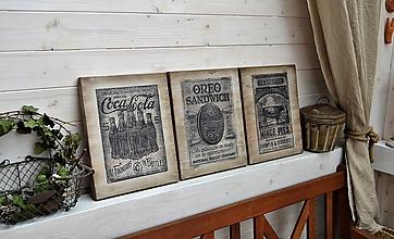 Tabuľky - Staré reklamné tabuľky - 10682388_