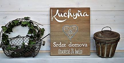 Tabuľky - Kuchynská tabuľka - 10682684_