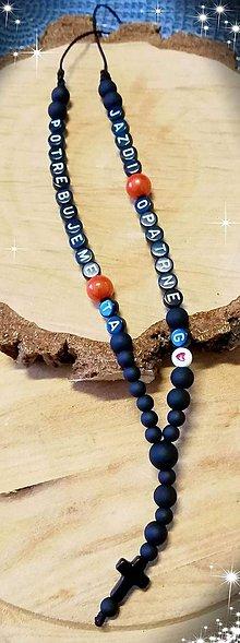 Iné šperky - Prívesok alebo amulet do auta  na želanie s textom menom alebo dátumom aj farebne podla vašeho priania - 10685330_