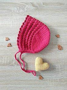 Detské čiapky - Červená čiapočka - 10684263_