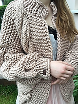Romantic cardigan-beige