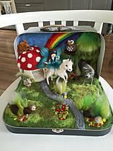 Hračky - Čarovný les v kufriku - 10685304_
