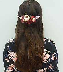 Ozdoby do vlasov - Romantický hrebienok