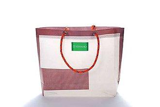 Veľké tašky - Úsmev ako dar: DORKA bag edícia VÚB I. (VUB03) - 10683531_