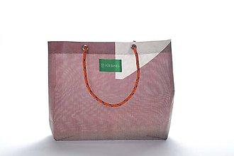 Veľké tašky - Úsmev ako dar: DORKA bag edícia VÚB I. (VUB05) - 10684374_