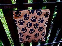 Nákupné tašky - Taška - taštička - Kúpit s mamou - TLAPIČKY II - 10686062_