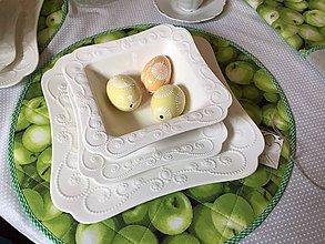 Úžitkový textil - Green apple - 10684731_