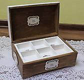 Krabičky - krásna veľká masívna krabica na šitie - 10684381_