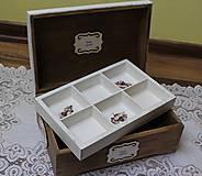 Krabičky - krásna veľká masívna krabica na šitie - 10684382_