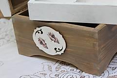 Krabičky - krásna veľká masívna krabica na šitie - 10684383_