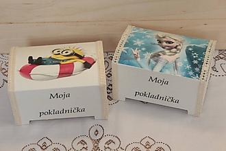 Krabičky - pokladničky pre detičky - 10684321_