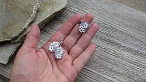 Sady šperkov - Sada náušnice + prsteň, č. 2655 - 10683352_