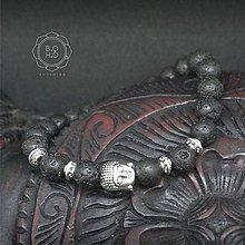 9277c232c Náramok BUDHA Láva, Tigrie oko / BOHO-BOHEMIAN - SAShE.sk - Handmade ...