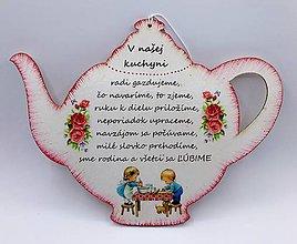 Drobnosti - Čajník - V NAŠEJ KUCHYNI - 10683850_